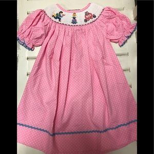 Other - Cinderella smocked dress. NWT. Multiple sizes